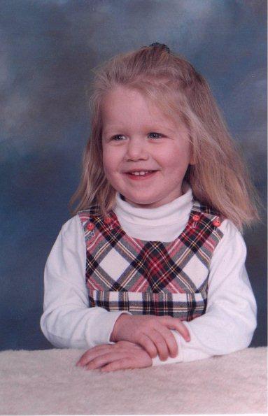 Lola at pre-school
